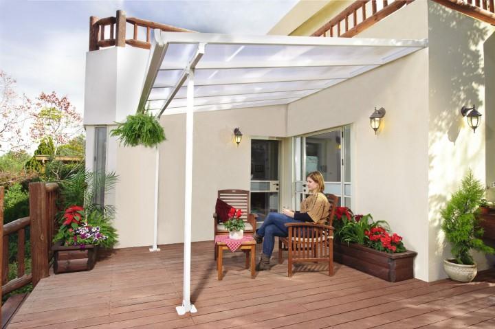 feria terrassen berdachung 300x1220 cm txb carport. Black Bedroom Furniture Sets. Home Design Ideas