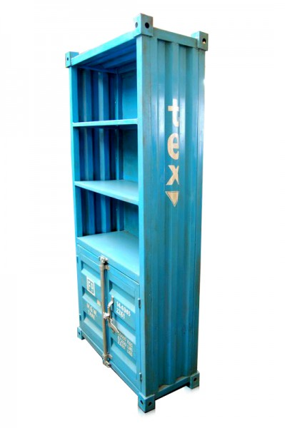 Industrial container b cherregal schrank container for Schrank 30x30