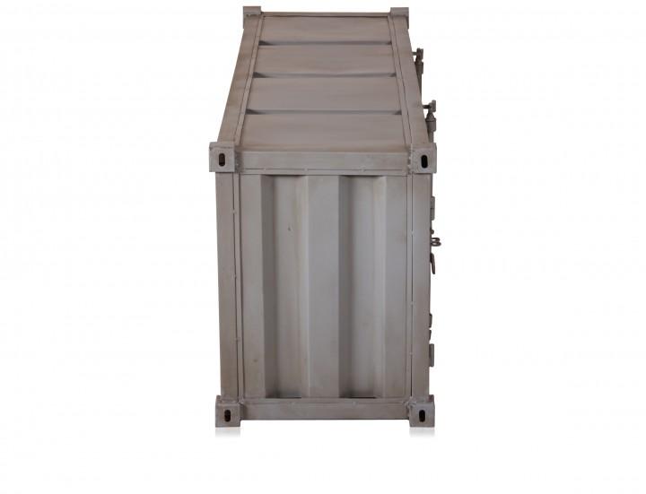 industrial m bel tv kommode container look vintage farben. Black Bedroom Furniture Sets. Home Design Ideas