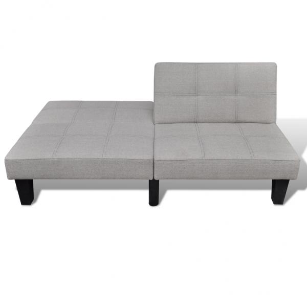 schlafcouch couchbett sofabett grau wei wohnzimmer. Black Bedroom Furniture Sets. Home Design Ideas