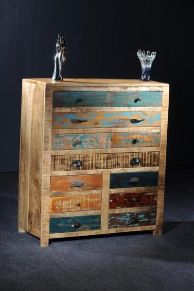 ... Kommoden : Vintage Schubladenkommode aus altem Holz Shabby Chic