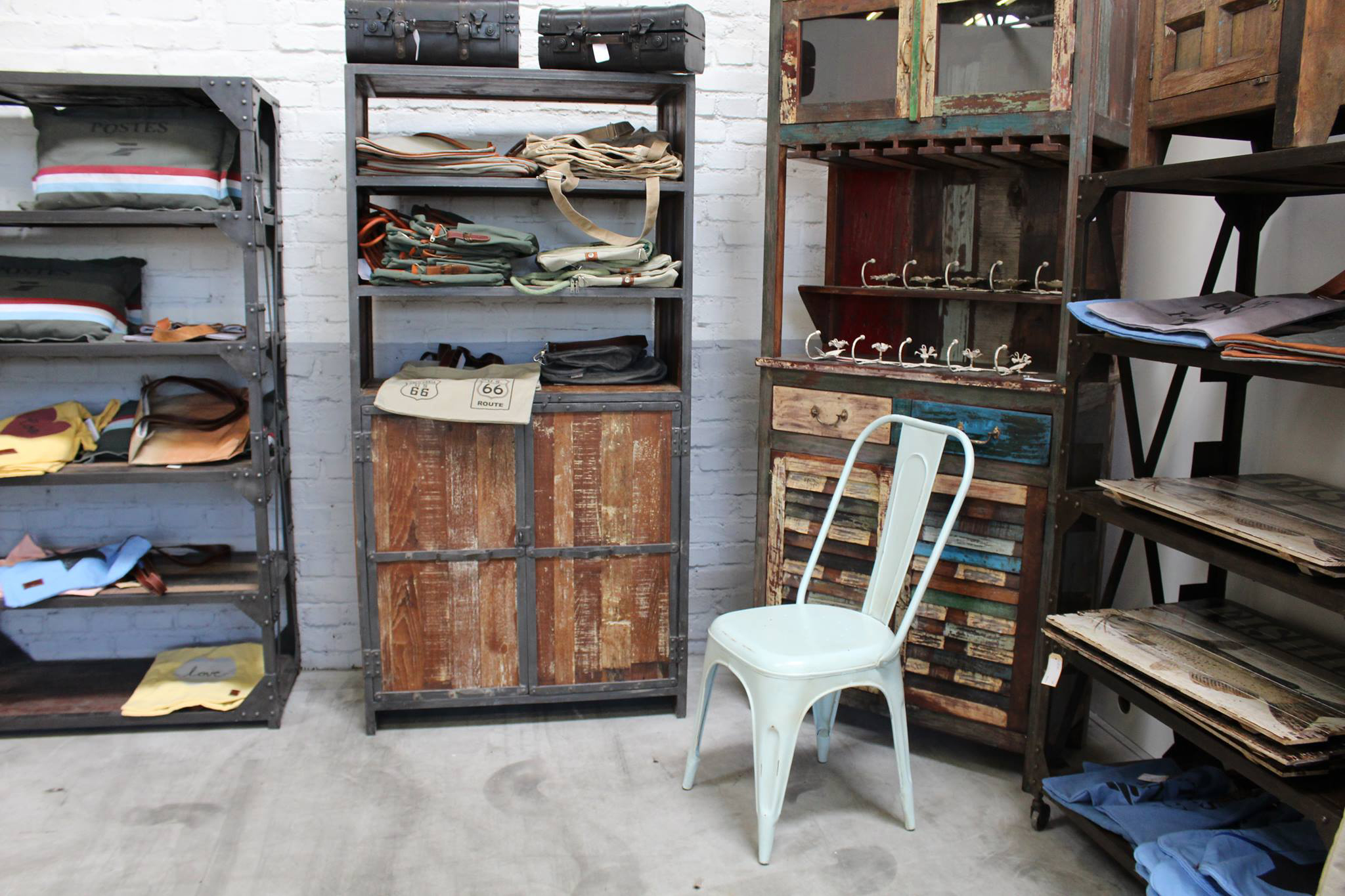 Industrial chic mobel wohndesign - Stylische mobel ...