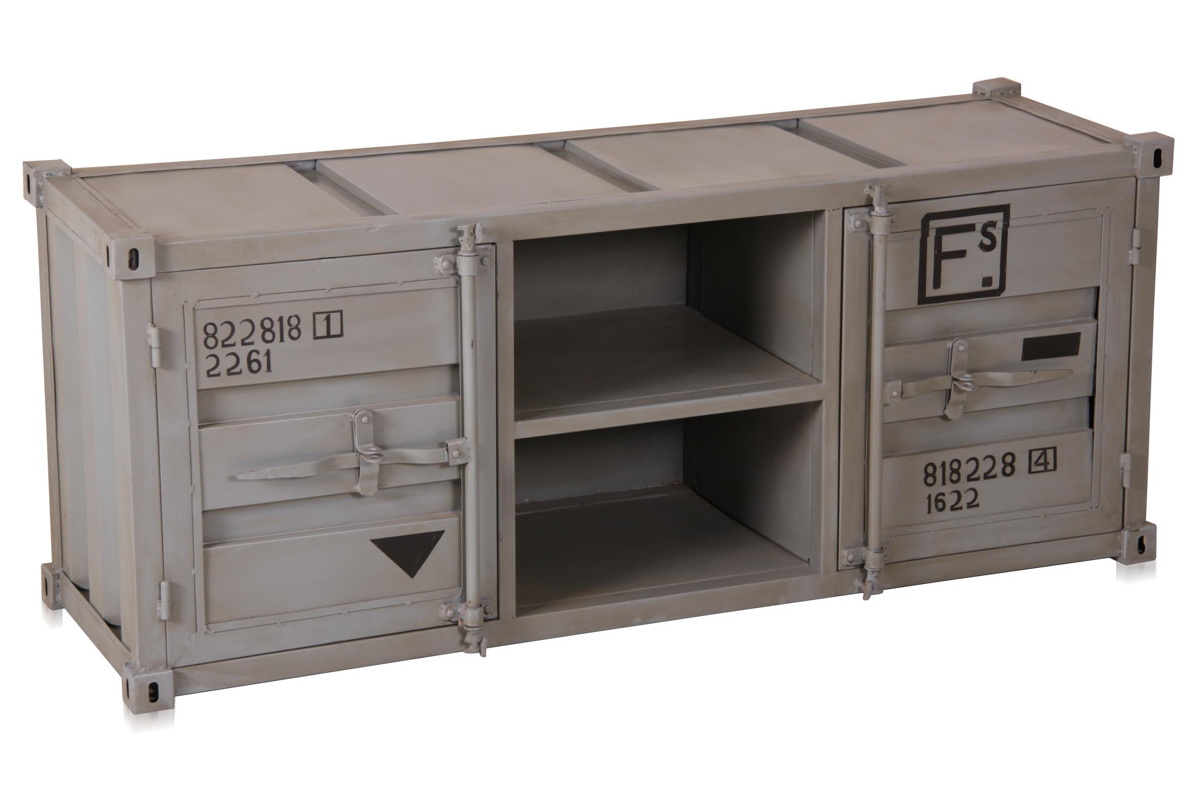 Möbel aus Eisen - Container Look Sideboard