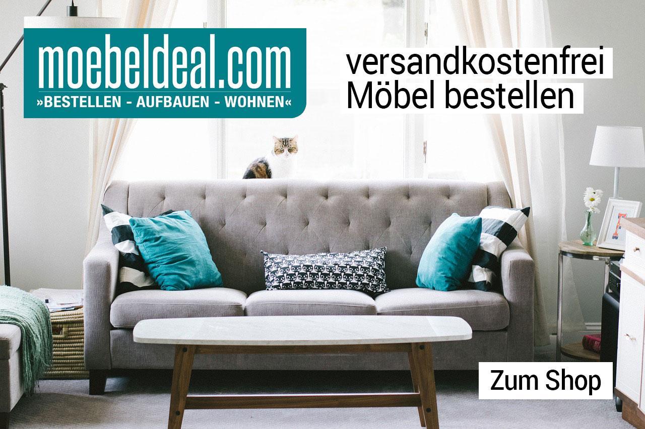 moebeldeal.com - versandkostenfreie Möbel online bestellen