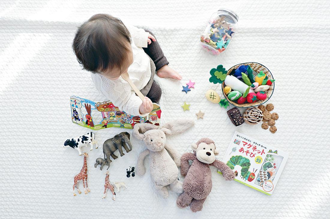 Kinderzimmer Ideen - Spieldecke & Teppiche