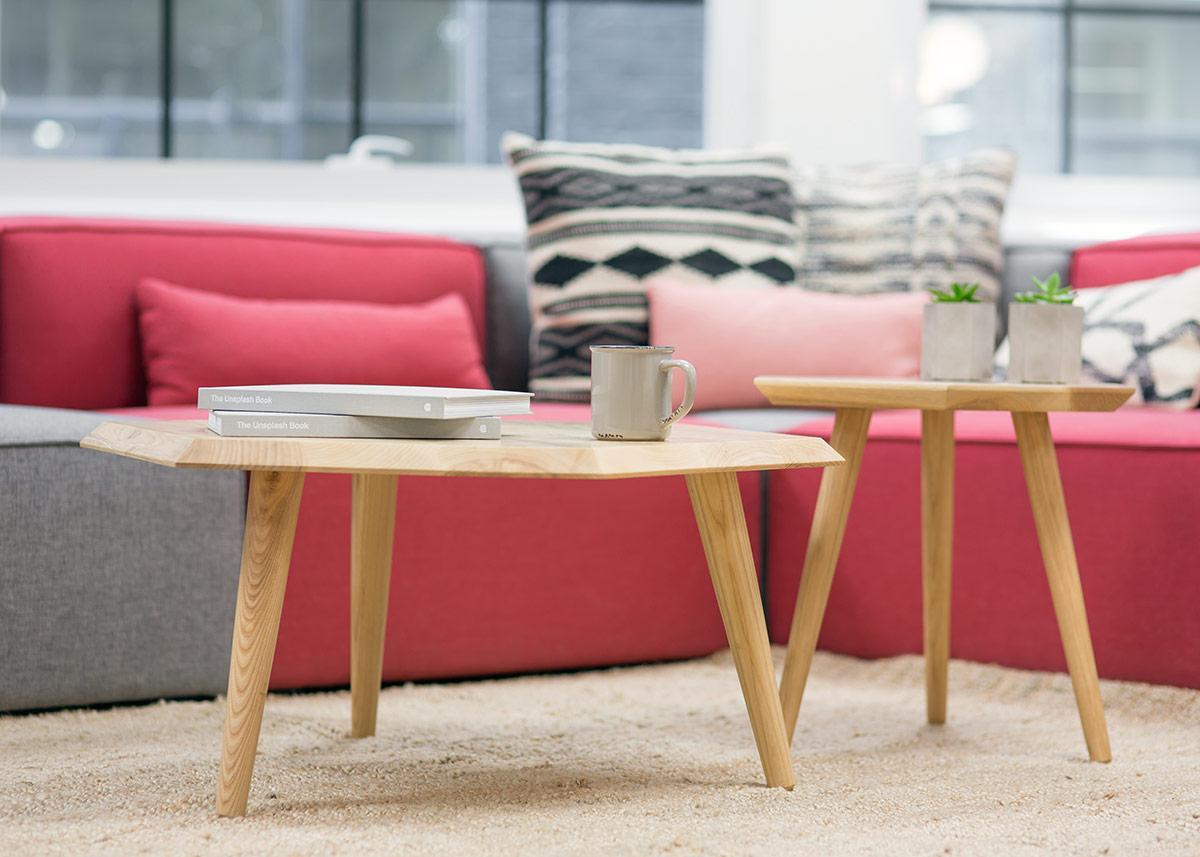 Wohnidee Sofa - Farbakzente