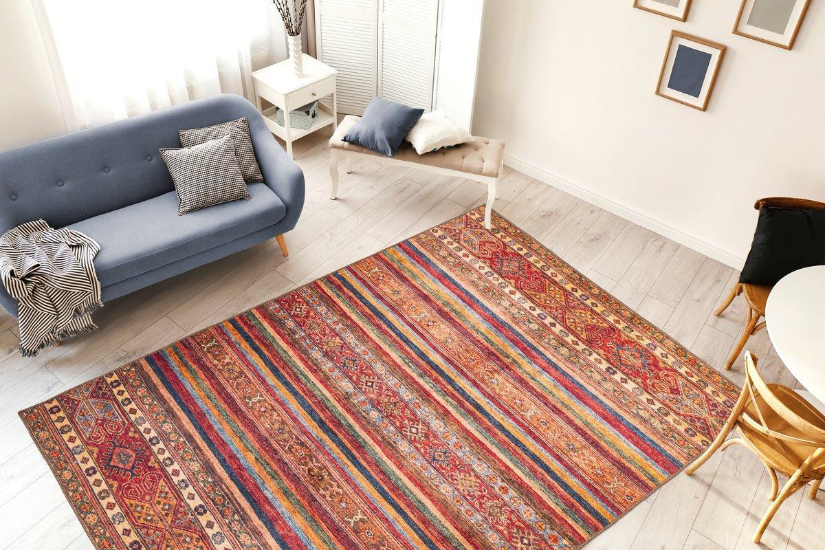Stylische Teppiche / Vintage Teppich / Ethno Look