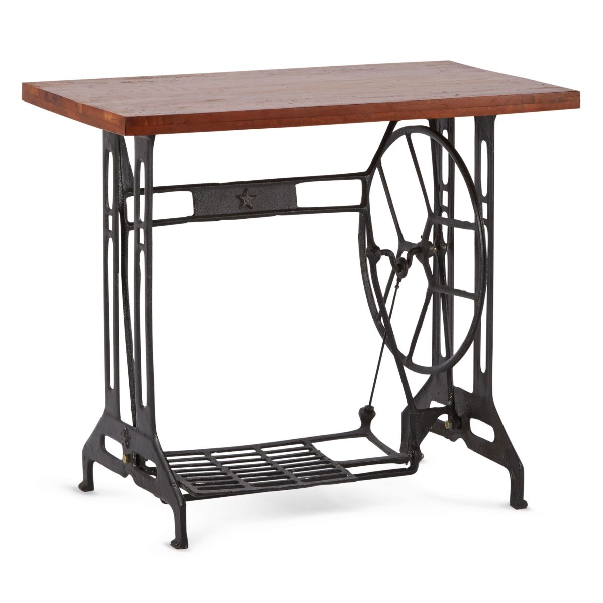 industrial tisch n hmaschinen beistelltisch elisabeth. Black Bedroom Furniture Sets. Home Design Ideas