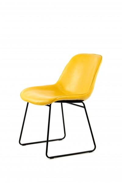 Stuhl Cora 110 2er-Set Gelb