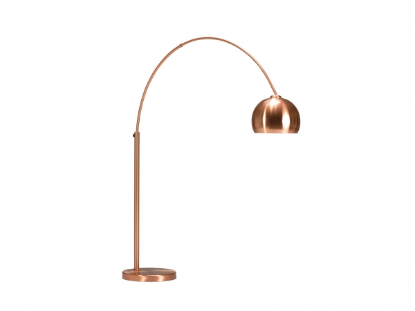 Bogenleuchte Kupfer Stehlampe