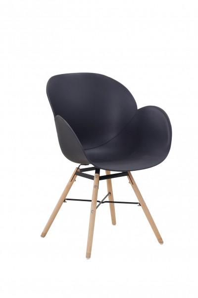 Stuhl Amalia 110 4er-Set Schwarz