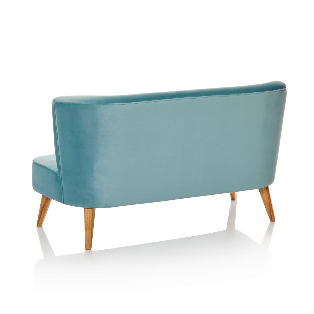 Petition Edward Luvs White Sofa: Vintage Sofa Couch Samtbezug