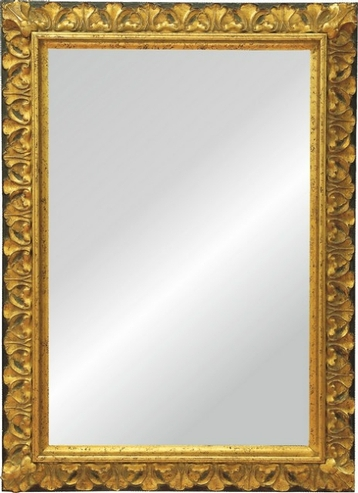 Spiegel Barock mit Rahmen aus Holz