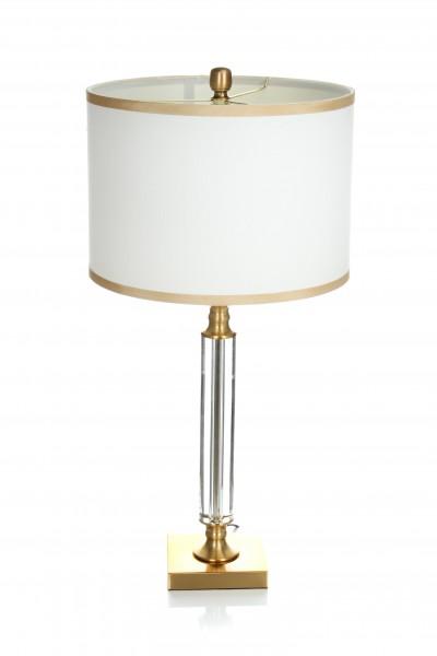 Tisch- / Stehlampe Abazio 110 Weiß / Gold