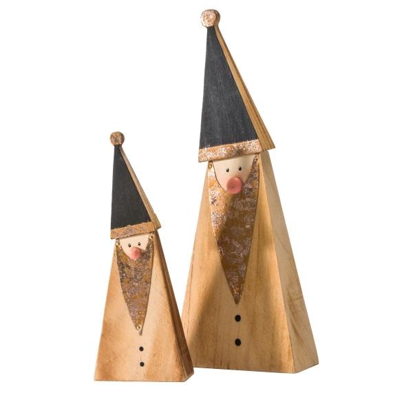 Weihnachtsdeko Dekofiguren aus Holz