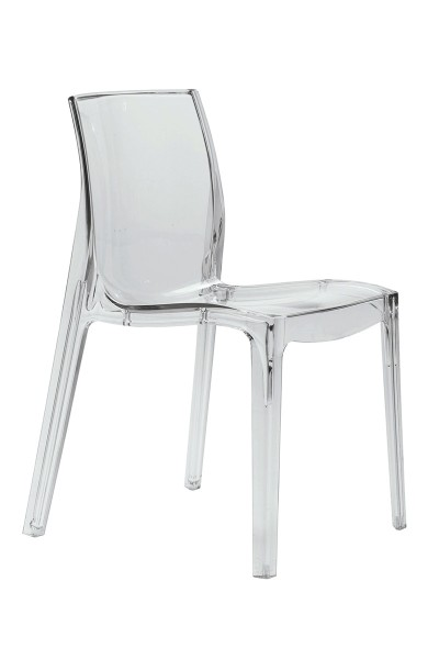 Designer Stuhl aus Kunststoff