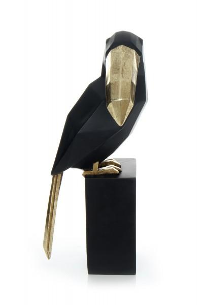 Skulptur Toucan 110 Schwarz