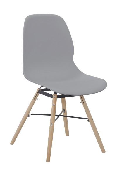 Stuhl Amy 110 4er-Set Grau