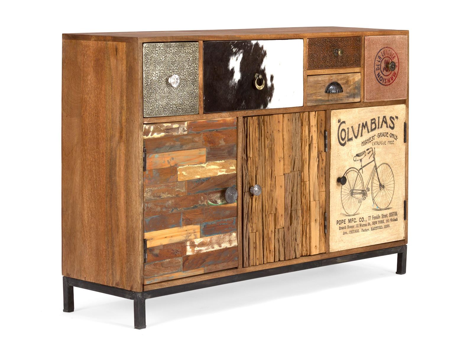 massivholz sideboard laos versandkostenfrei bestellen. Black Bedroom Furniture Sets. Home Design Ideas