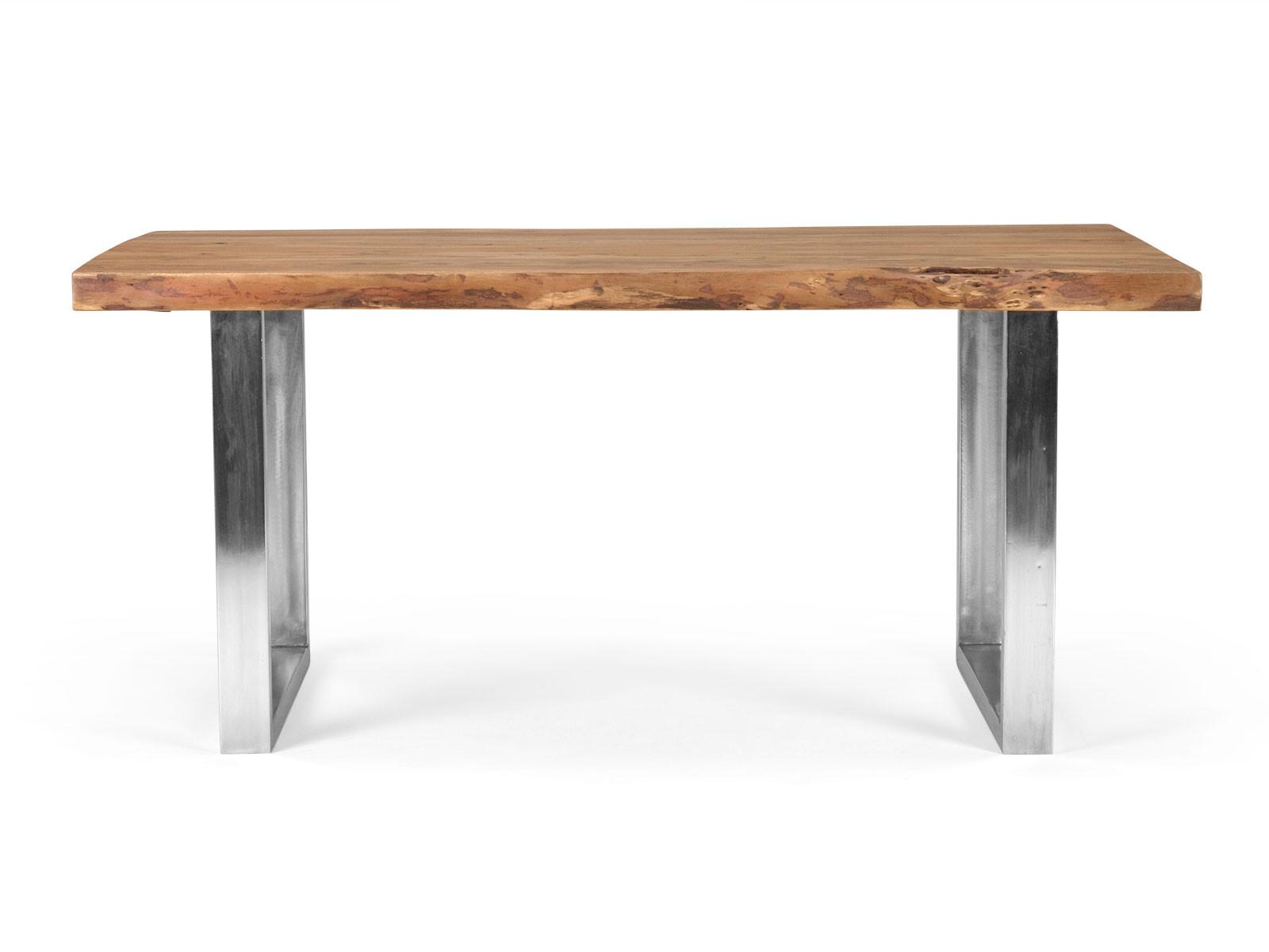 industrial m bel esstisch aus massivholz baumtisch versandkostenfreie m bel. Black Bedroom Furniture Sets. Home Design Ideas