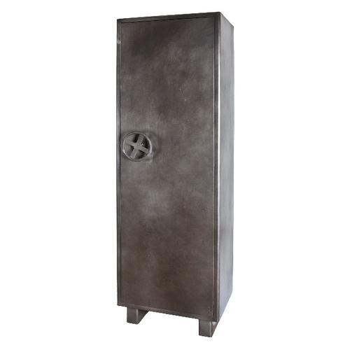 Metallschrank im Industrial Look Tresor-Look