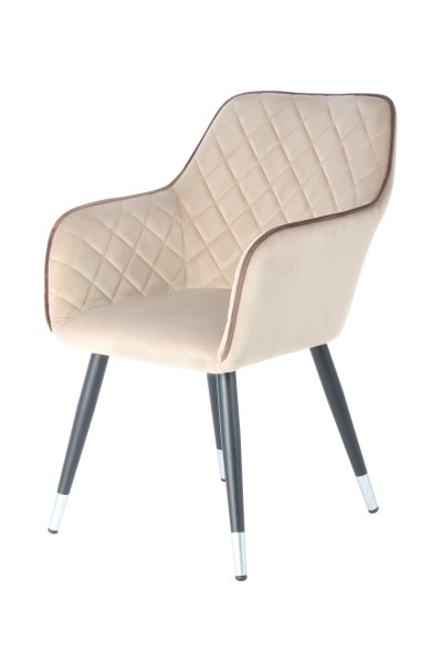 Stuhl Amino 625 Beige / Braun