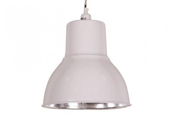 Industrial Design Lampe weiß Loft Style