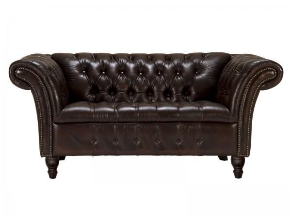 Chesterfield Look Sofa 2-Sitzer