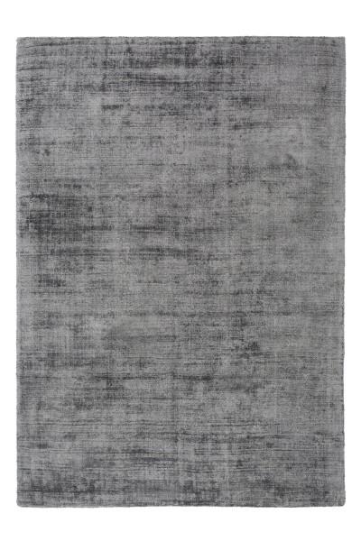 Teppich Viskose Grau