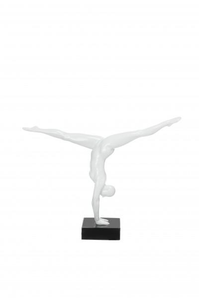 Skulptur Athlete 120 Weiß