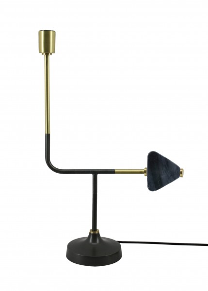 Tischlampe Casey 287 Schwarz