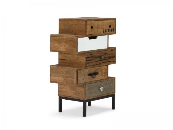 Shabby Möbel Kommode aus Massivholz