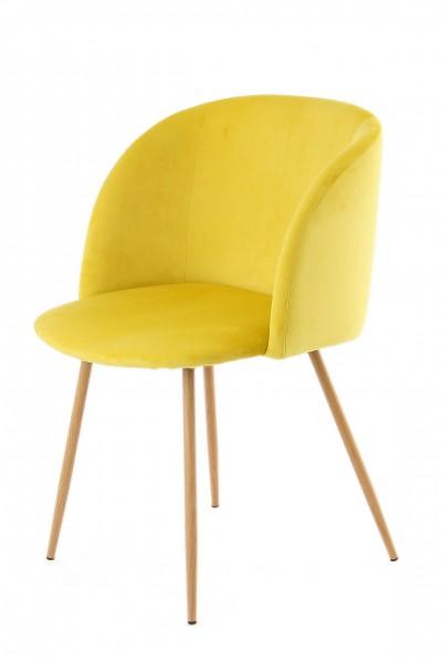 Stuhl Celina 110 2er-Set Gelb