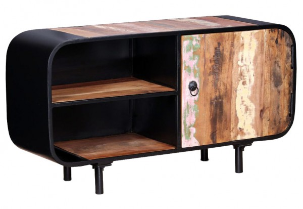 industrial style tv schrank versandkostenfreie m bel online bestellen. Black Bedroom Furniture Sets. Home Design Ideas
