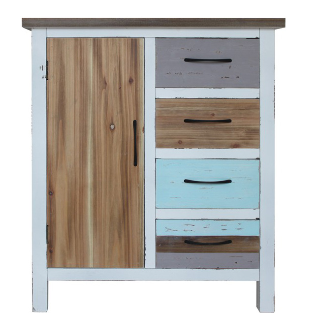 kommode shabby chic bunt gallery of kommode crystoga in. Black Bedroom Furniture Sets. Home Design Ideas