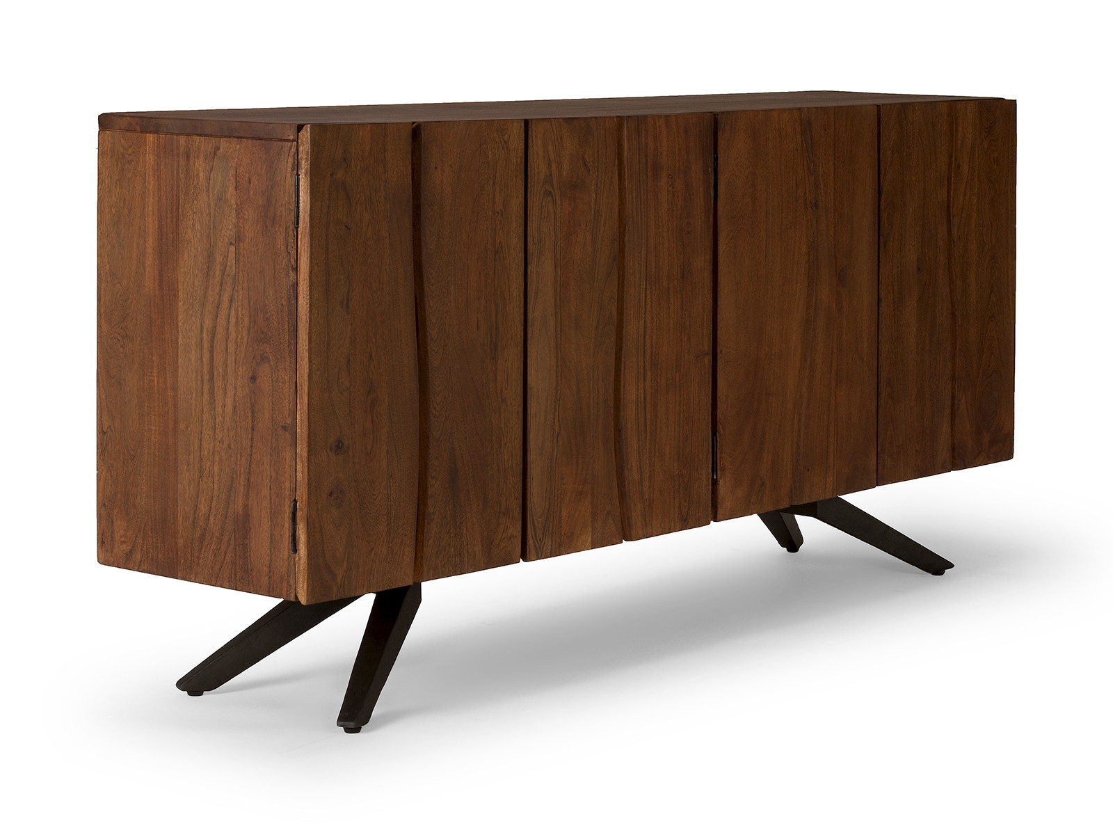 industrie m bel sideboard massivholz aus akazie versandkostenfreie m bel. Black Bedroom Furniture Sets. Home Design Ideas