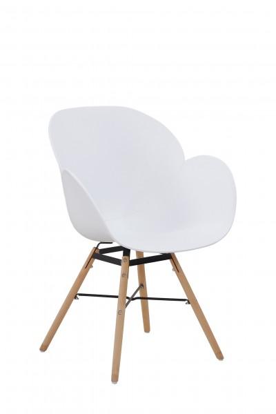 Stuhl Amalia 110 4er-Set Weiß