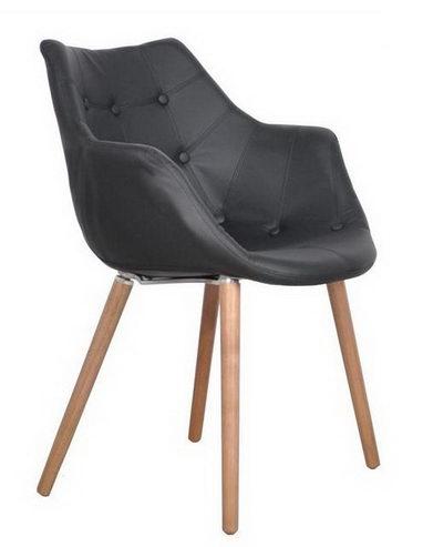 Designer Stuhl aus hochwertigem Kunstleder