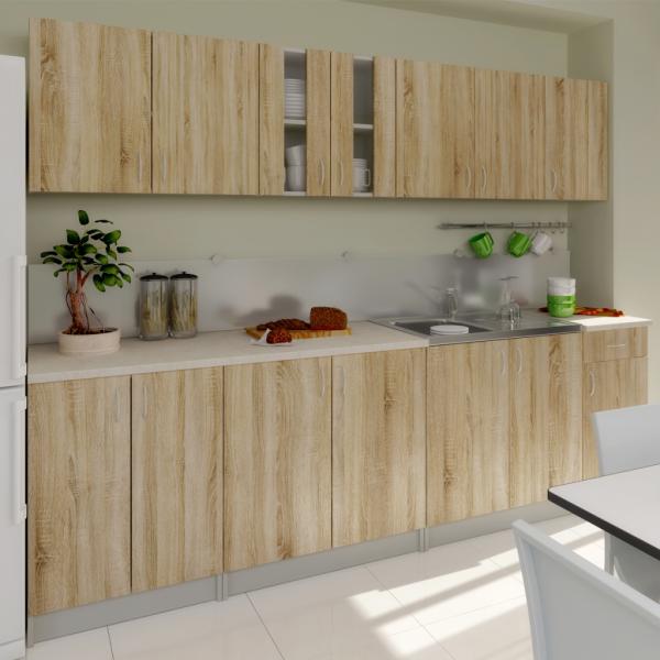 Einbauküche Küchenzeile Küche 260 cm