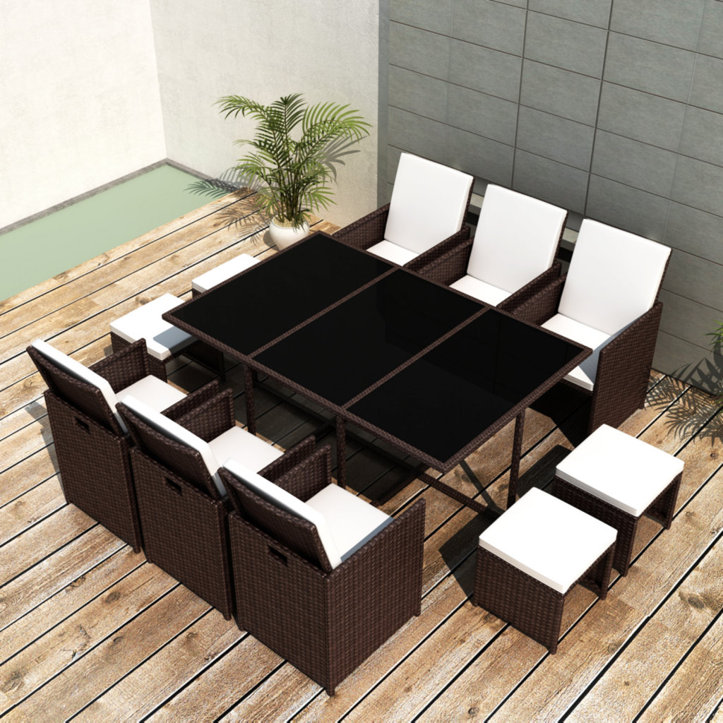 rattan gartenm bel essgruppe m bel garten moebeldeal. Black Bedroom Furniture Sets. Home Design Ideas