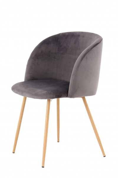 Stuhl Celina 110 2er-Set Grau