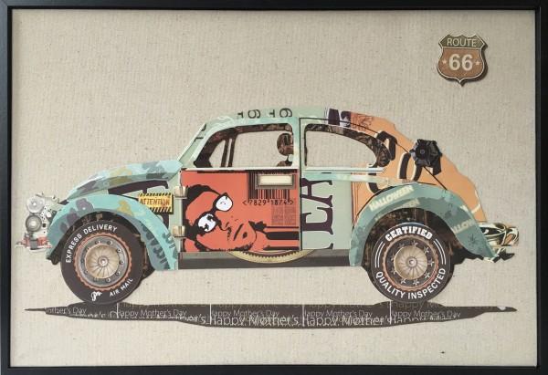 Papier Wandbild Automobil 62cm x 42cm