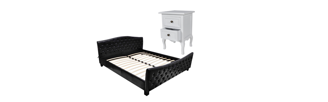 g nstige betten versandkostenfrei bestellen moebeldeal. Black Bedroom Furniture Sets. Home Design Ideas