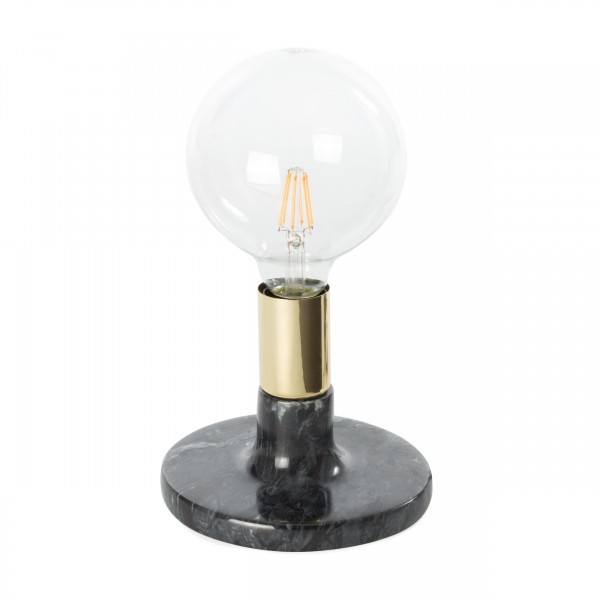 Tischlampe Mrs. Glow Schwarz