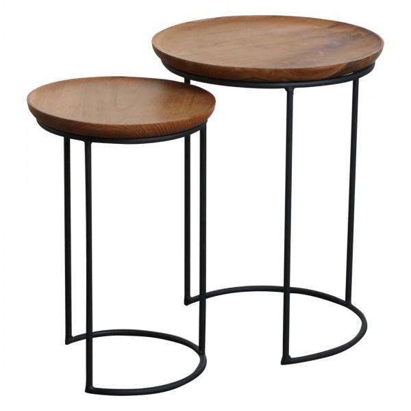 Tisch Set Teakholz