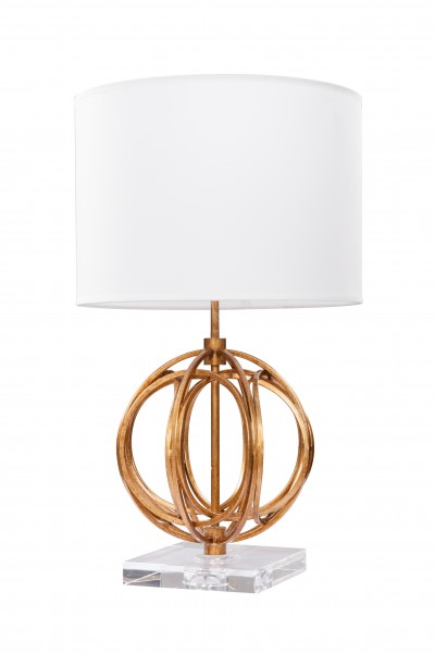 Tischlampe Luzem I 330 Gold