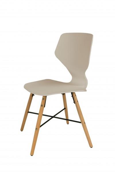 Stuhl Charlie 110 4er-Set Beige