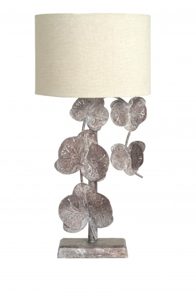 Tischlampe Autumn Flowers Bronze
