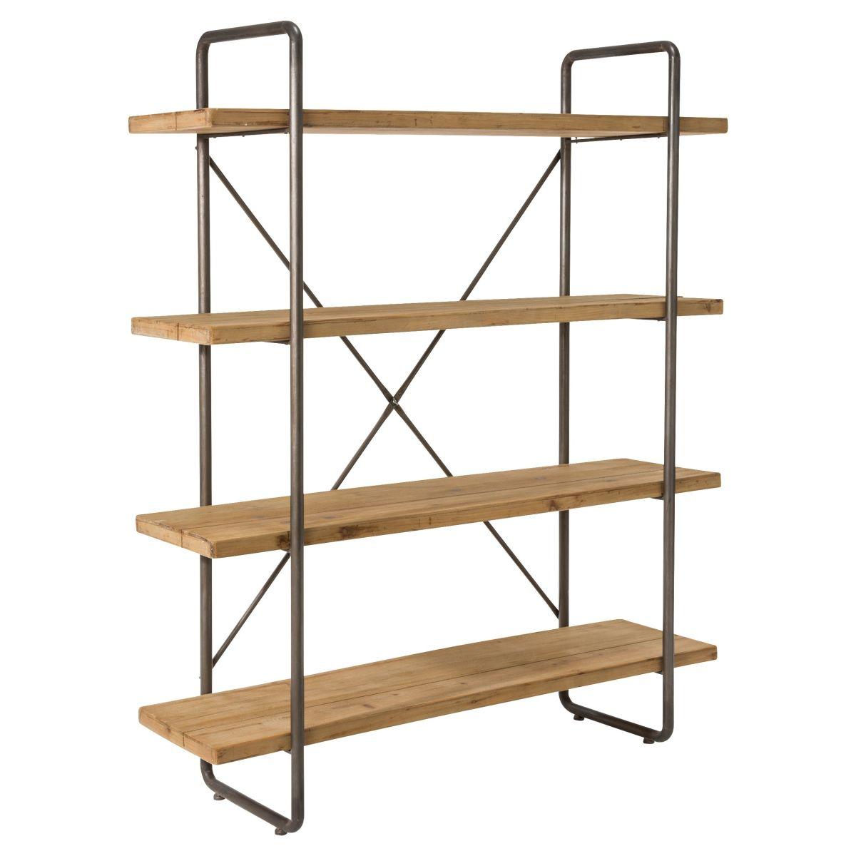 industrial chic regal aus tannenholz versandkostenfrei bestellen. Black Bedroom Furniture Sets. Home Design Ideas