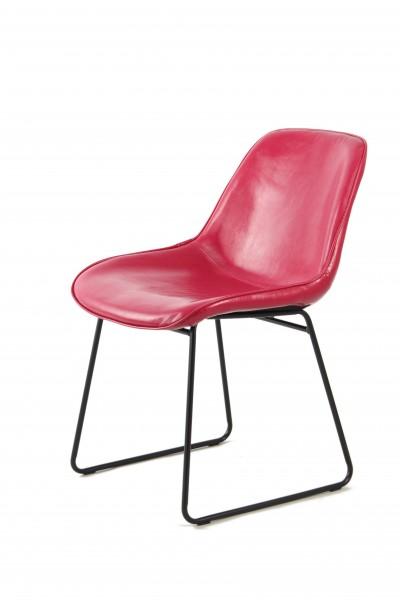 Stuhl Cora 110 2er-Set Pink / Rot